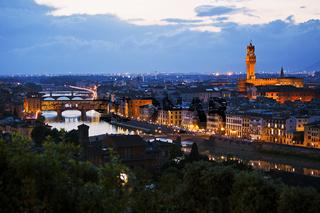 Arnobruecken, Firenze, Italy