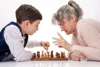 Chess between two generations