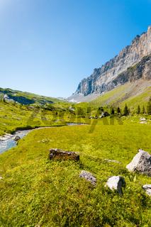 Sixt Fer A Cheval Alps France National Park V