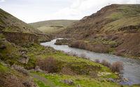 Deep Gorge Deschutes River Wild Scenic Corridor Oregon