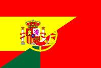 spain portugal flag