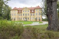Schloss Mirow auf der Schlossinsel Mirow, Mecklenburg-Vorpommern