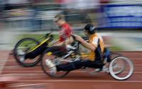 HANDBIKER - Behindertensport (Typical)