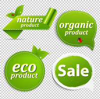 Green Set Eco Tags