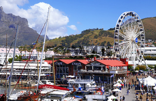 An der Waterfront in Kapstadt, Südafrika, at Waterfront in Cape Town, South Africa
