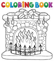 Coloring book Christmas thematics 6