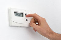 Vintage digital thermostat - Hot