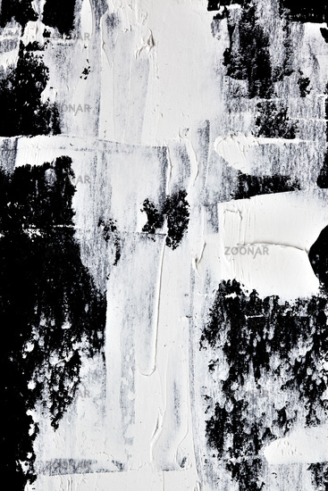 White oil paint  - abstract texture