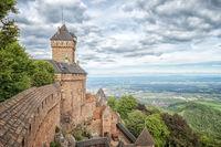 Haut-Koenigsbourg in France