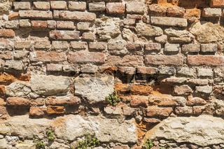 Ziegelmauer | brick wall