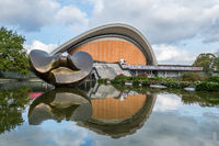 The Haus der Kulturen der Welt (House of the World's Cultures) in Berlin