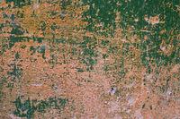 grunge green wall