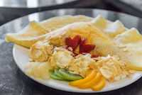 Exotic Fruit crape