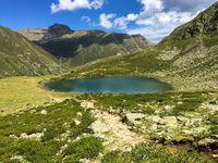 Bergsee im Kühtai, Ötztal, Tirol, Österreich