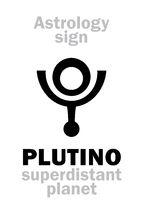 Astrology: PLUTINO
