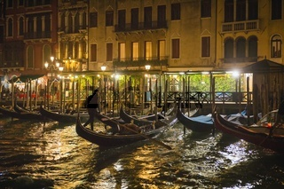 Evening on the Grand Canal in Venice