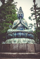 Buddha statue in Senso-ji temple, Tokyo, Japan