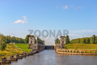 Gateway on Moscow Canal, Russia