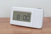 Clock radio - Time - 08.00 AM