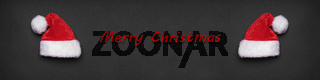 merry christmas xmas greeting banner or header