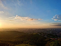 View from the top of the city of Belo Horizonte