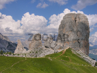 Giant Rocks, Dolomites, Italy, August 2009