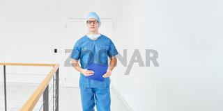 Arzt der Chirurgie im Krankenhaus