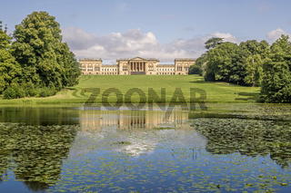 Stowe House Stowe Gardens Buckinghamshire UK