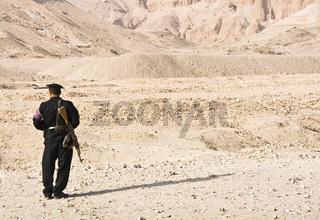 Ägyptischer Polizist egyptian policeman