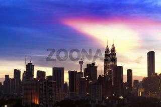 Kuala Lumpur city