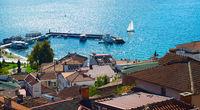 Ohrid panorama. Macedonia