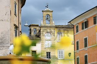 Clock tower in San Severnio