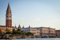 Venice view at sunrise