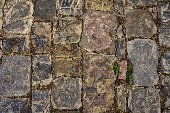 historisches kopfsteinpflaster