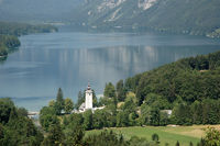 bohinjsee in Slowenien
