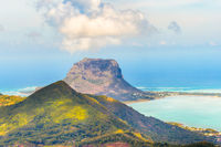 View from the viewpoint. Mauritius.