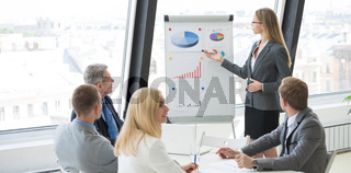 Presentation at business meeting