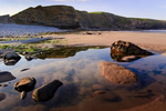 UK Southerndown Pool Reflection