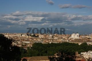 Rom, Stadtansicht vom Belvedere dei Saviati