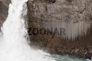 Island, Wasserfall Aldeyjarfoss