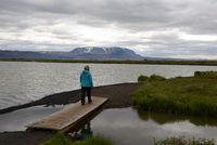 Wandern am Myvatn, Island