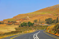 Am berühmten Long Tom Pass, Mpumalanga, Südafrika, at famous Long Tom Pass, South Africa