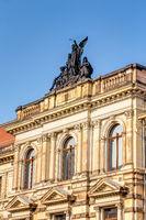 Außenfassade Albertinum in Dresden