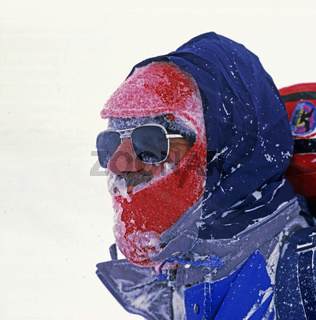 Bergsteiger, Winterbesteigung, Ararat
