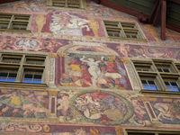 Haus zum Ritter,Schaffhausen,Schweiz