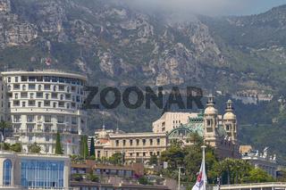 Famous Grand Casino of Monte Carlo in Monaco