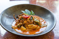 Curry Soft crab