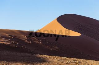 Dünen von Sossusvlei, Namibia, Afrika, Dunes of Sossusvlei, Namibia, Africa