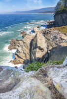 Rocky Beach Landscape