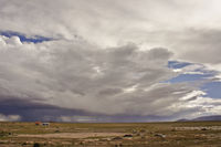 Clouds above desert, Bolivia